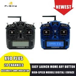 FrSky Taranis X9D Plus 2019 24CH TOEGANG ACCST D16 Mode2 Zender M9 Hall Sensor Gimbal PARA Draadloze Training