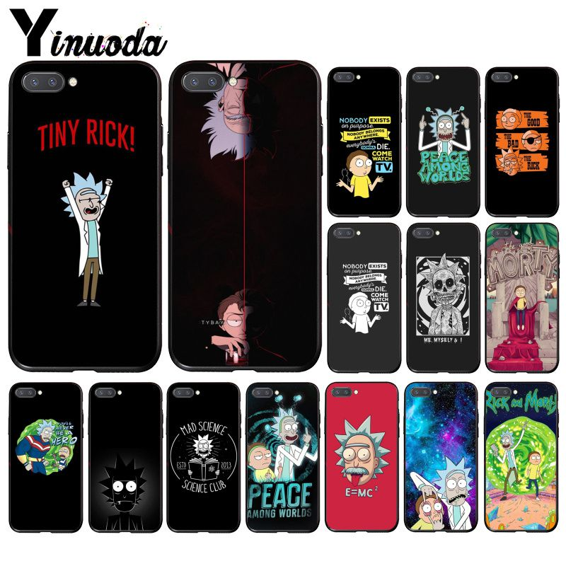 Yinuoda Rick And Morty Phone Case For Huawei Honor 8X 9 10 20 Lite 7A 5A 7C 10i 20i View20