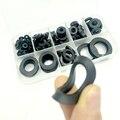 8 размеров Черная изоляция уплотнительное кольцо резиновая плоская шайба набор прокладок Комплект M3 M4 M5 M6 M8 M10 M15 M20 товары для дома