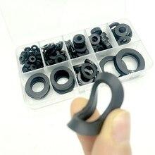 8 tamanhos preto isolação anel de vedação borracha plana arruela kit sortimento m3 m4 m5 m6 m8 m10 m15 m20 melhoria da casa