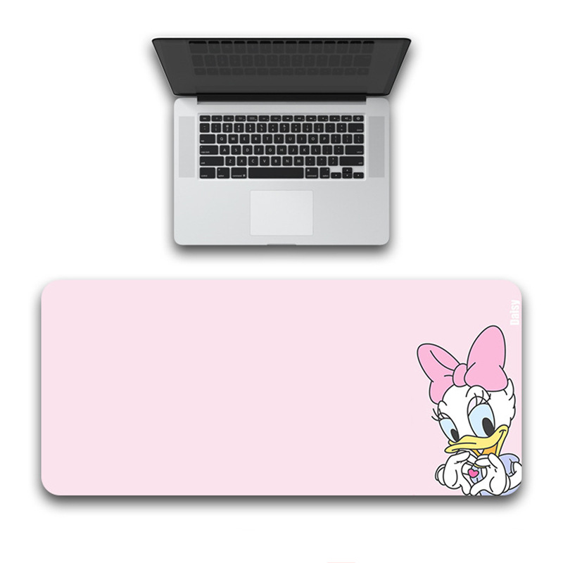 Donald Duck Daisy Mouse Pad 80x30cm Rubber  Waterproof Game Desk Mousepad Keyboard Mat Mouse  mat Desk mat Portable