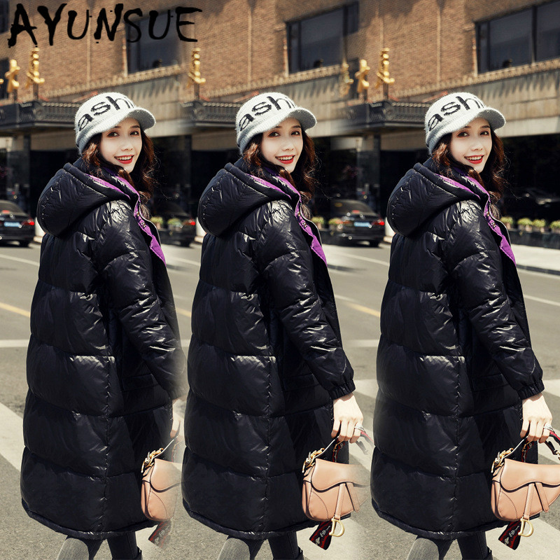 AYUNSUE Jacket Women Korean White Duck Down Coat Winter Down Jacket Women Jacket Puffer Jacket Casaco 198021 YY1256