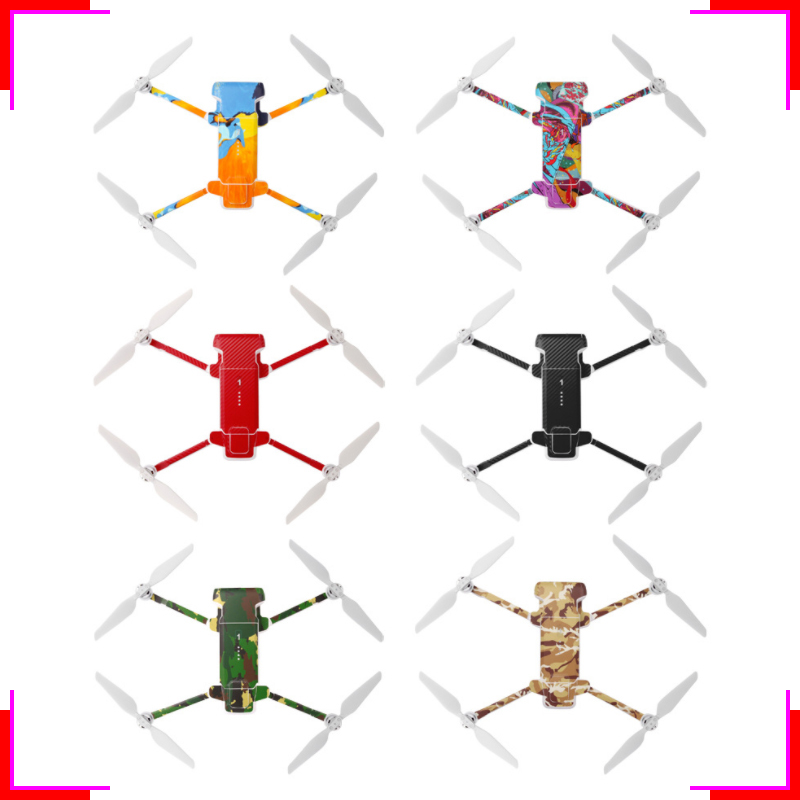 Waterproof PVC Stickers for FIMI X8 SE 2020 Camera Drone Decals Removable Skin Cover PVC Stickers