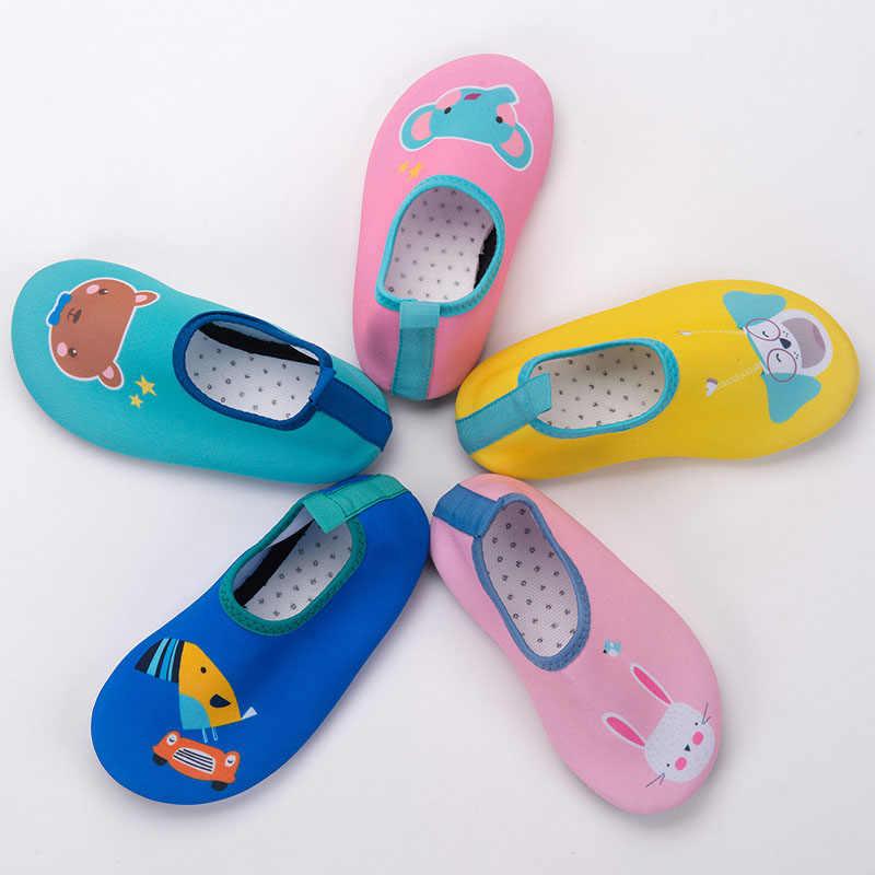 Kids Sneldrogend Zwemmen Water Schoenen Casual Schoeisel antislip Aqua Sokken Voor Jongen Meisje Strand Zwembad Cartoon Kinderen slippers