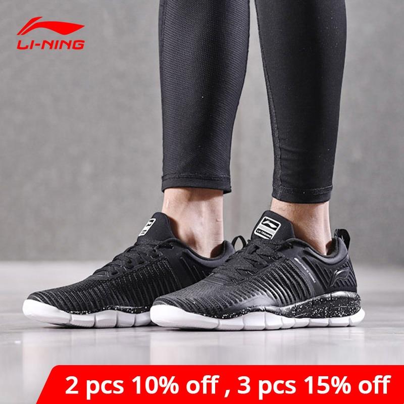 Li-Ning Men SUPER TRAINER EXP Smart Quick Training Shoes Light LiNing Li Ning Sport Shoes Mono Yarn Sneakers AFHN007 YXX027