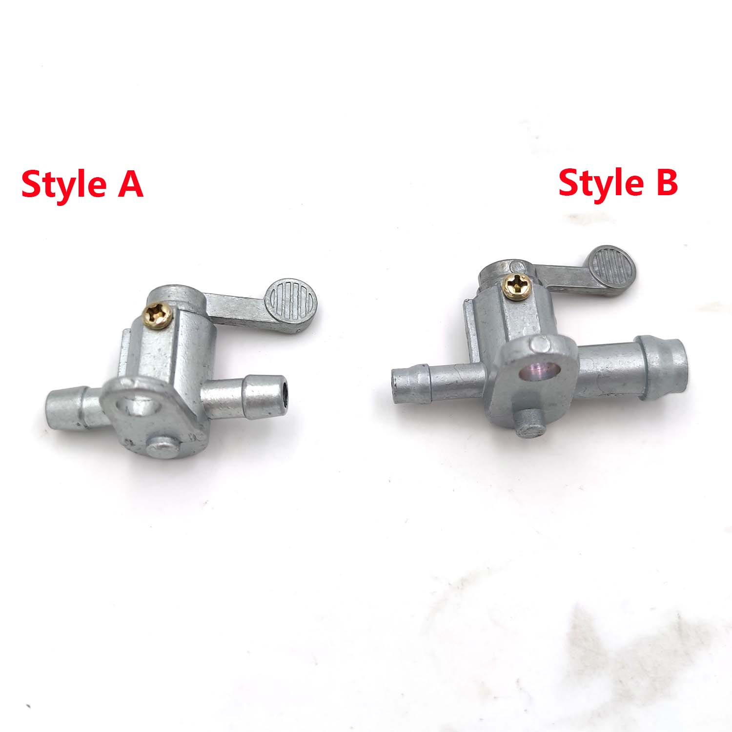 Universal Plastic Shut Off 1//4 Inline On//Off Fuel Switch Tap for Briggs /& Stratton Moto Pit Motorized Bike with 6mm Pipe Hose Motorcycle Fuel Valve Petcock Fuel Tank Tap