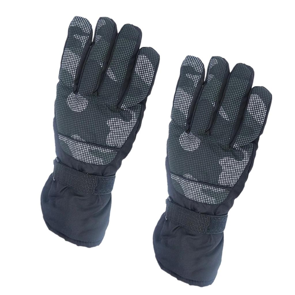 Men Women Waterproof Winter Cycling Bike Riding Motorbike Motorcycle Gloves Mitts Winter Warm Ski Gloves