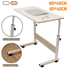 Bureau d'ordinateur amovible bureau d'ordinateur Portable Table d'ordinateur Portable roulant Table de lit d'hôpital Portable Mobile sur la Table de lit
