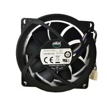 NEW For CoolerMaster FA08025M12LPD 12V 0.50A 804057-001 80*80*25mm Cooling Fan 4pin Cooling Fan Processor Cooler Heatsink Fan wholesale cooling fan for acer 4750 4750g 4752g 4743g 4755g fan heatsink