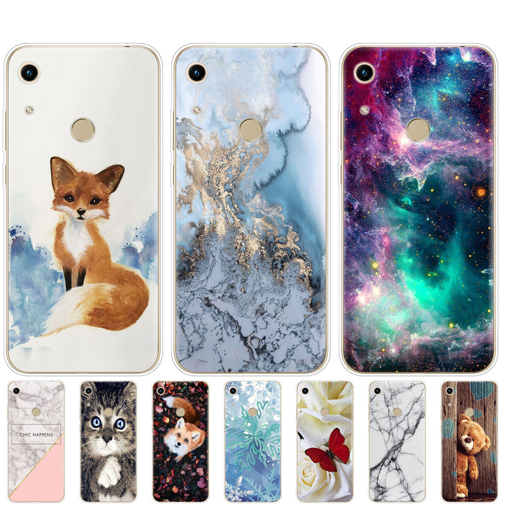 Honor 8A Case For Huawei Honor 8A Case Silicone TPU Cute Back Cover Phone Case On Huawei Honor 8A JAT-LX1 8 A Honor8A Case Soft
