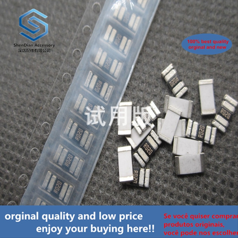 50pcs 100% Orginal New Best Quality SMD High Power Resistance 2010 0.02R 0.02 Ohm 20 Milliohms 1% (R020) 20mR