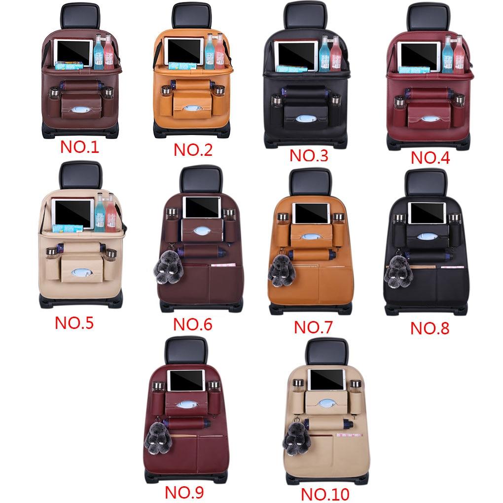 Pad Bag Car Seat Back Organizer Foldable Table