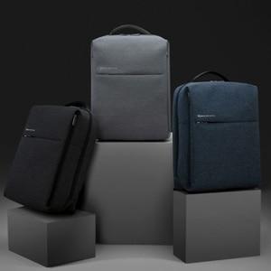 Image 3 - Оригинальный рюкзак XiaomI Mi 2, наплечная сумка в городском стиле, рюкзак, школьный рюкзак, вещевая сумка, подходит для ноутбука 15,6 дюйма