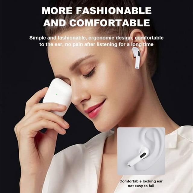 Mini Pro 4 TWS Bluetooth Earphones Hi-Fi Wireless Headphones In-Ear Stereo Earbuds Hands-Free Headset For Smart Phone 5