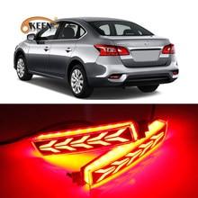 Feux antibrouillard pour Nissan Sylphy LIVINA Quest, réflecteur de pare-chocs arrière Led pour Infiniti FX QX70 ESQ, phare de conduite, 2 pièces