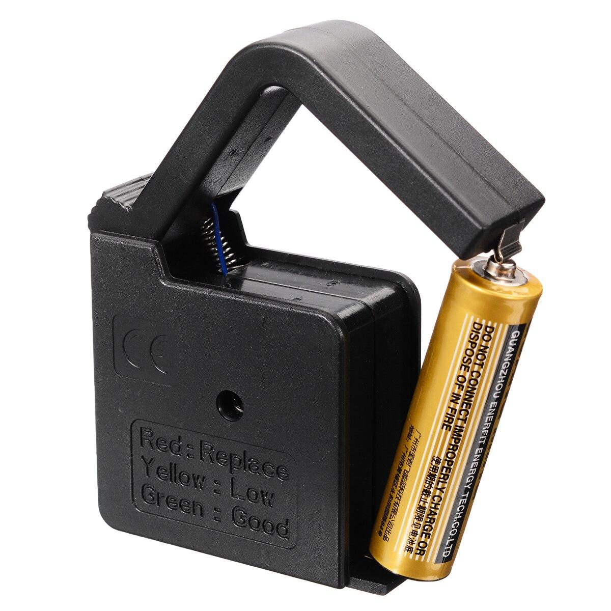 Цифровой тестер напряжения батареи проверка для AA/AAA/C/D/18650/9 V/1,5 V кнопочный прибор для измерения заряда батареи