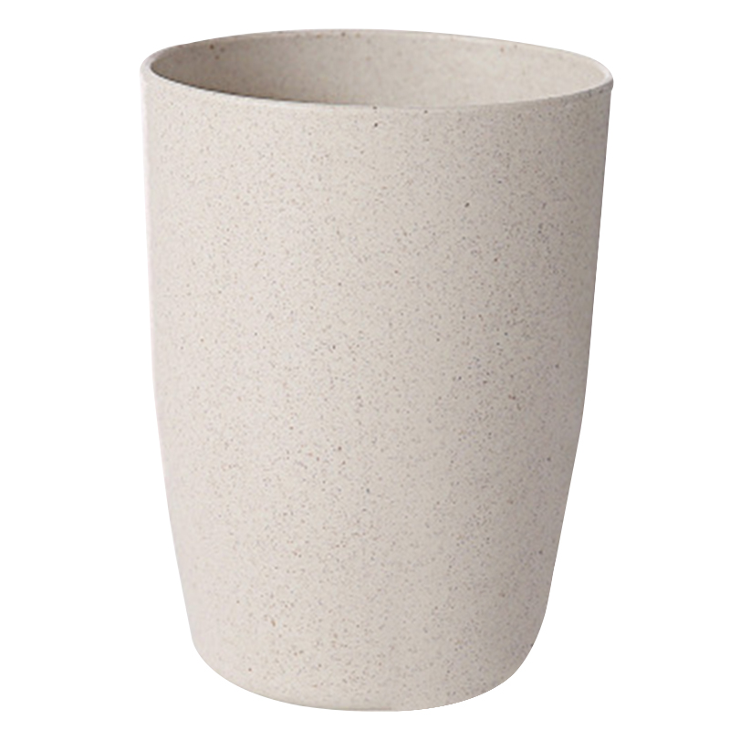 400ml Wheats Straw Water Cup Multifunctional Coffee Plastic Cup Drinking Cups Reusable Brushing Cups Home Accessories