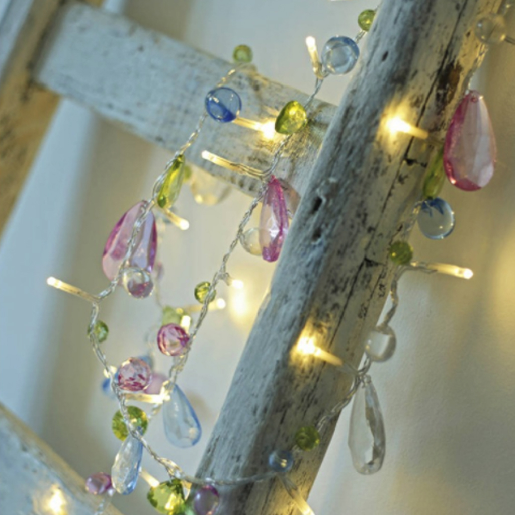 Led String Light  Wedding Crystal String Light Christmas 1.5M 10 Leds Fairy Pink Girl String Light Party Garden Garland Lighting