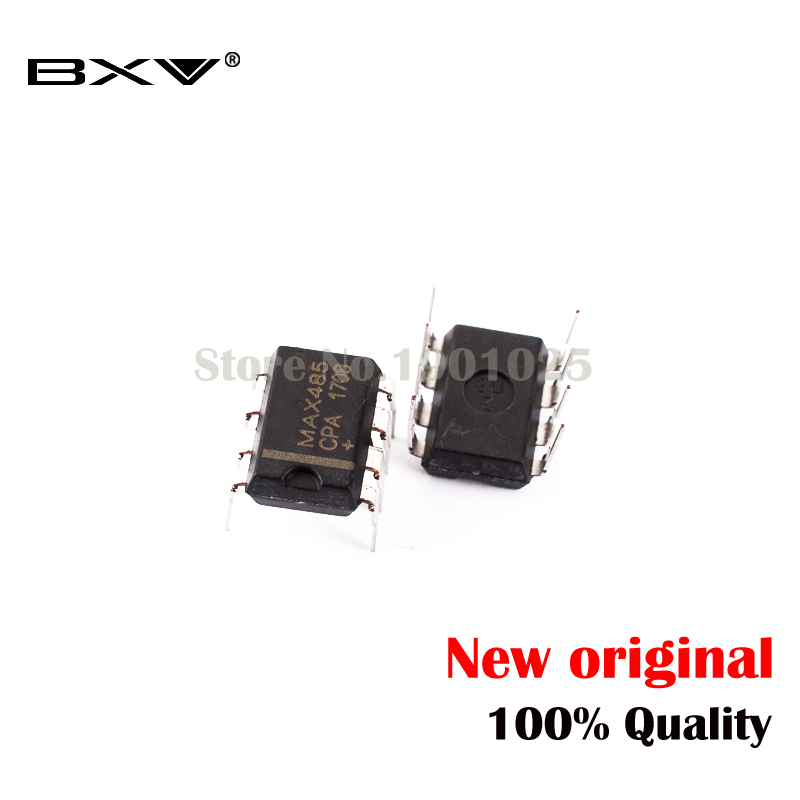100 PCS MAX485CPA DIP-8 MAX485 RS-485//RS-422 Transceiver