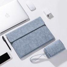 Luva do portátil para macbook pro 13 a2159 a2289 a1989 a1278 caso 2020 capa de couro do plutônio carcasa funda para macbook pro 16 caso a2141