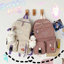 Оригинальные японские мягкие рюкзаки для девочек нейлоновые