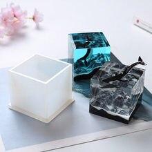 Yeni tasarım dağ tepe şekilli silikon takı aracı takı aksesuarları UV reçine kalıp DIY kurutulmuş çiçek dekorasyonu kalıpları