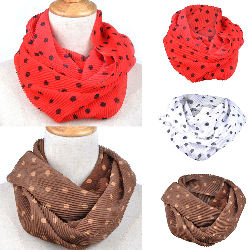 Floral Print Retro Head Neck Silk Satin   Scarf     Wraps   Beautiful Women Soft Chiffon Print Convertible Infinity Loop   Scarf     Scarves