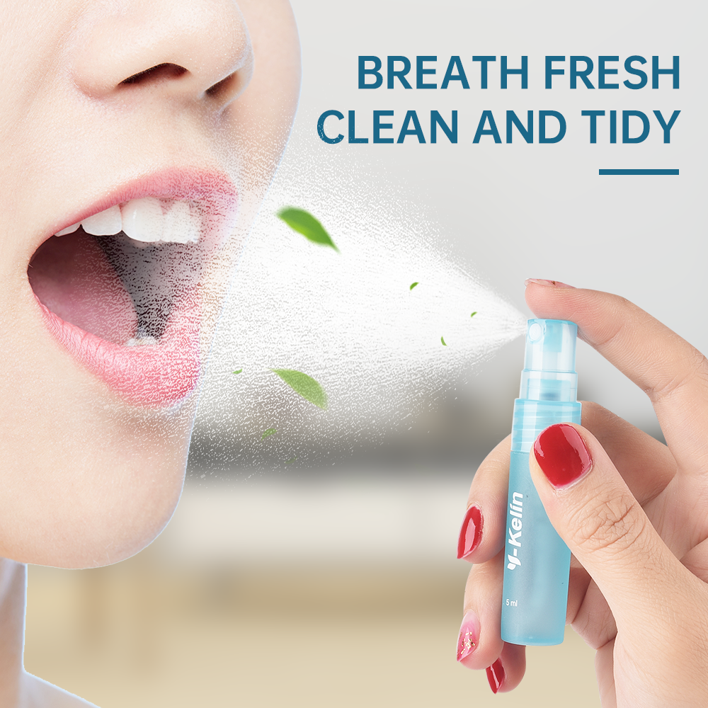 Clearance SaleRemove Oral-Spray Fresh-Breath Smoke 2-Flavors Y-Kelin Herbal New-Arrival