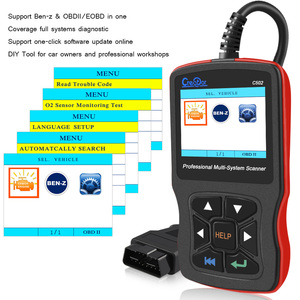 Image 2 - Newest Creator C502 Car OBD 2 Diagnostic Tool Full Systems Auto Diagnostic Scanner Professional For Mercedes Benz OBD2 Scanner