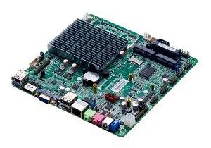 J1900 Bay trail безвентиляторная материнская плата, мини-ITX безвентиляторная материнская плата поддержка COM 232 и 24bit LVDS