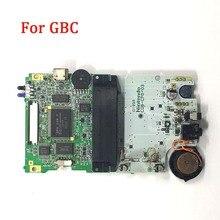 Gbcの交換マザーボードオリジナルpcb回路モジュールボードnintend gbcコンソールバックライト画面メインボードアクセサリー