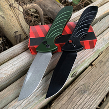 New Sell well 7600 aluminum alloy Handle  Outdoor Folding Knife  High quality Multifunction Collection Knife