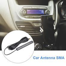 Антенна Европейская DAB Автомобильная Радио Антенна усиленная антенна внутреннее стекло крепление SMB разъем приема