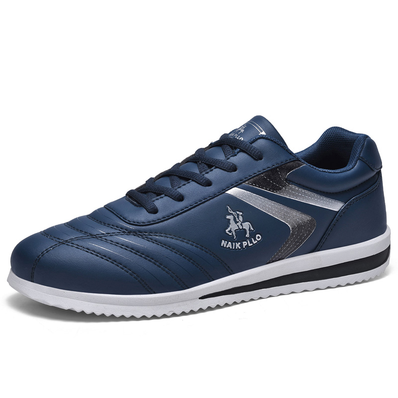 Golf Men's Professional Sports Shoes Non-slip Training Golf Sports Shoes Waterproof Leather Walking Shoes Black Blue Fitness