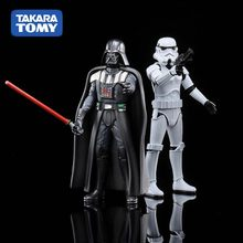 TAKARA TOMY METACOLLE Requintado Sorte Skywalker Darth Vader Yoda R2-D2 C-3P0 Action Figure Brinquedos Presentes Legal para Os Colecionadores de Crianças(China)