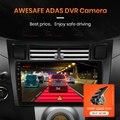 Автомагнитола AWESAFE PX9, мультимедийный экран с голосовым управлением для Toyota Yaris Radio Fascia 2008, 2005 -2012, Android, GPS-навигатор, 2 Din