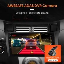 Multimídia da tela de controle de voz de awesafe px9 para o rádio 2008 do carro da fascia 2005 -2012 android gps navigator 2 din de toyota yaris