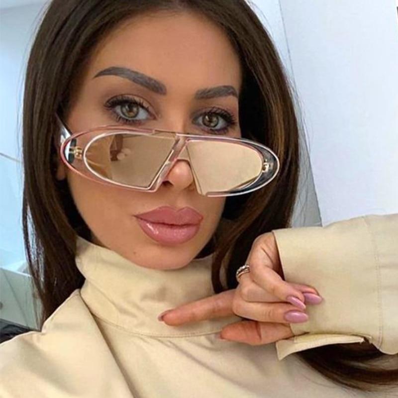 Овальные Солнцезащитные очки для женщин, небольшие градиентные солнечные очки в стиле ретро, роскошные брендовые винтажные женские очки зе...