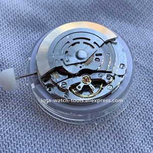 Image 5 - China clone RLX GMT 3186 movement automatic mechanical movement men watch movement blue balance