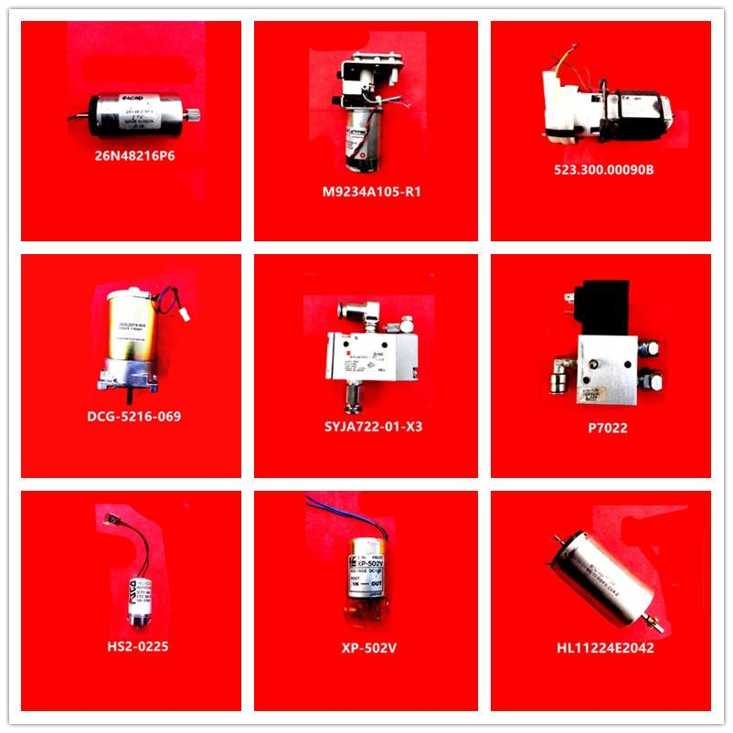 26N48216P6| M9234A105-R1| 523.300.00090B| DCG-5216-069| SYJA722-01-X3| P7022| HS2-0225| XP-502V| HL11224E2042 Used