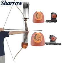 Archery Arrow Quiver 6-Arrows Deadlock Lite Arrow Quiver Rest No arrows Shooting Recurve Bow Hunting Portable Bow Accessories longbowmaker archery hunting arrow quiver waterproof durable archery quiver holder arrows bow quiver bow waist bag