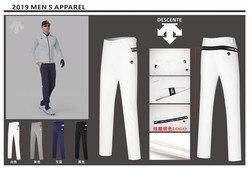 QMen Golf Pants Pantalones deportivos otoño all-match coreano Delgado pantalones largos primavera Golf ropa 4 colores hombres marca Pantalones