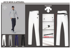 QMen Golf Pants Sports Trousers Autumn all-match Korean Slim Long Pants Spring Golf Clothing 4 Colors Men Brand Pants
