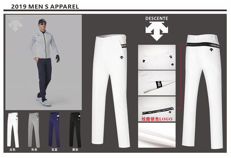 QMen Golf pantalon sport pantalon automne all-match coréen Slim Long pantalon printemps Golf vêtements 4 couleurs hommes marque pantalon