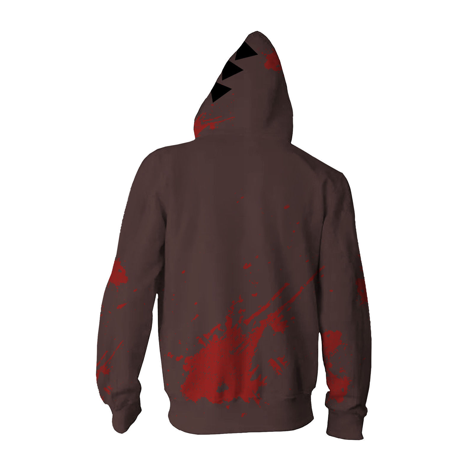 Angels of Death Isaac·Foster Zack Cosplay Costume Zipper Hoodie Sweatshirt Coat
