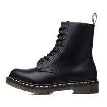 Ботильоны Унисекс Мужская обувь женские кожаные ботинки больших размеров мотоботы классическая мужская рабочая обувь в английском стиле