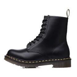 Unisex tornozelo botas homens sapatos mulher tamanho grande botas de couro da motocicleta bota clássico estilo inglaterra masculino trabalho safty sapatos