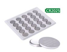 OOLAPR  100PCS A LOT Bateria CR2025 3V Lithium Button Battery BR2025 DL2025 ECR2025 CR 2025 Batteries Free Shipping