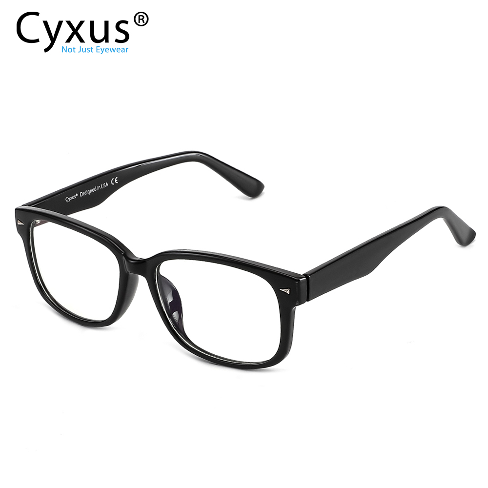 Cyxus Blue Light Filter Computer Glasses For Blocking Headache Transparent Lens Gaming Glasses Unisex (Men/Women) 8501