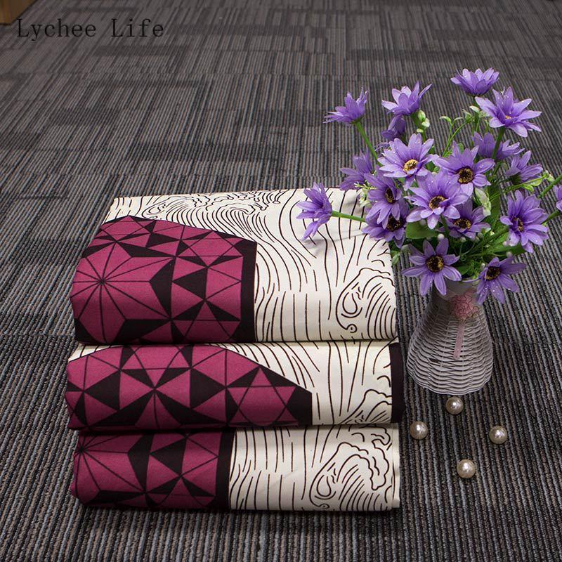 Litchi vie 72Yards Ankara tissu africain Polyester véritable cire impression bricolage tissu à coudre femmes robe de soirée artisanat